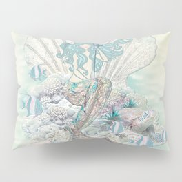 Anais Nin Mermaid [vintage inspired] Art Print Pillow Sham