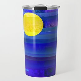 Yellow Moon Travel Mug
