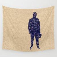 ale giorgini Wall Tapestries featuring - closer to the sea - by Magdalla Del Fresto