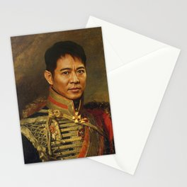 Jet Li - replaceface Stationery Cards