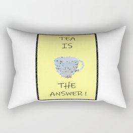 Yellow tea Rectangular Pillow