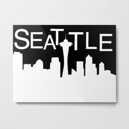 ACM seattle skyline Metal Print