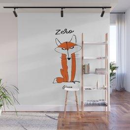 Fox Art. Zero Fox Given Wall Mural