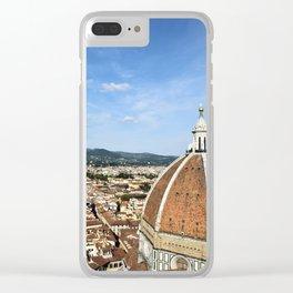Duomo Firenze Clear iPhone Case