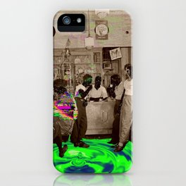 the Tempo of Bottoms up iPhone Case