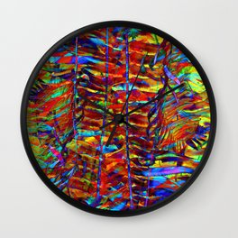 Ferndale Plantae Wall Clock