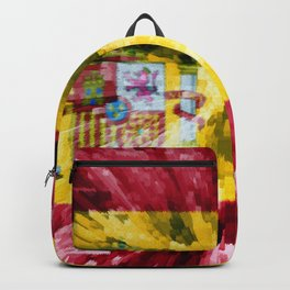 Extruded Flag of Spain Backpack