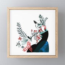 natural jazz Framed Mini Art Print