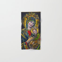 Our Lady of Perpetual Help Hand & Bath Towel