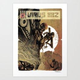 VIRUS 88Z Art Print
