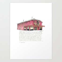 214 The Parade Art Print