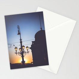 Freedom bridge - summer sunset II. Stationery Cards