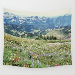 Wildflower Meadow Wall Tapestry