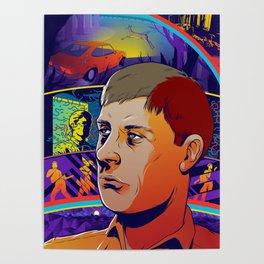Ian Curtis No. 2 Poster