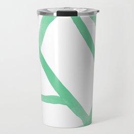 Abstract Map green Nr.2 Travel Mug