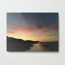 Newcomb Hollow Beach Sunset Metal Print