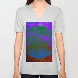 CANCER (ASTRAL SYMBOLS) Unisex V-Neck