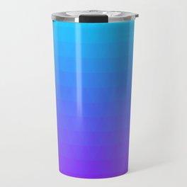 Blue and Purple Ombre Travel Mug