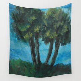 Twin Palms AC151223a-13 Wall Tapestry