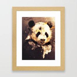 Panda Painting, Panda Mixed Media, Panda Bear, Panda Animal, Pandas Art, Panda Print, Best Panda Framed Art Print