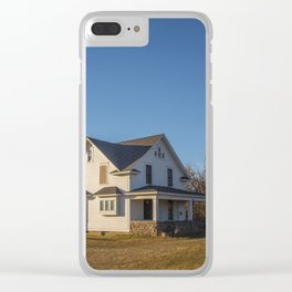 Beautiful House, Chaseley, North Dakota 1 Clear iPhone Case
