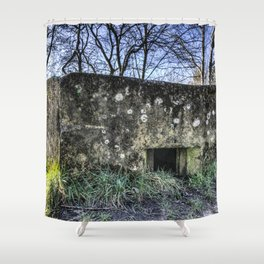 The War Bunker Shower Curtain