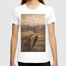 Union soldiers at Point Lookout, Tennessee T-shirt