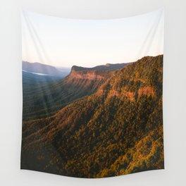 Border Ranges Sunrise Wall Tapestry