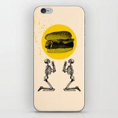 Hamburger Pray iPhone & iPod Skin