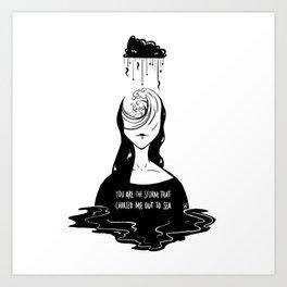 Sea Me Art Print
