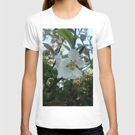 flower and light - White flower 3 T-shirt