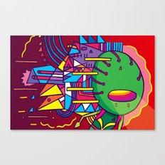 Alien Colors Canvas Print