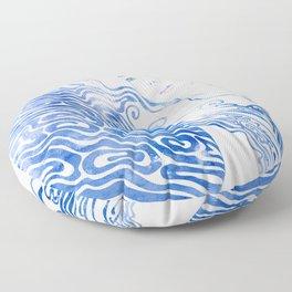 Water Nymph LXXVIII Floor Pillow