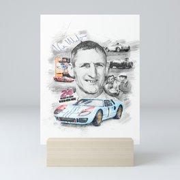 Ken Miles Mini Art Print
