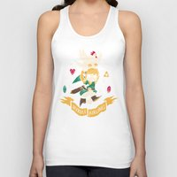 hyrule Tank Tops featuring hyrule airlines brown by Louis Roskosch