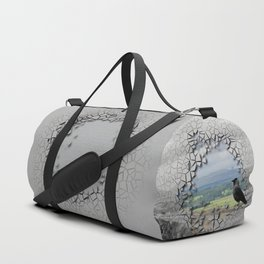 Cracked Up View Duffle Bag
