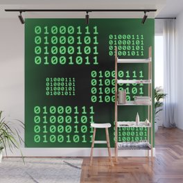 Binary code for GEEK Wall Mural
