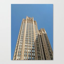 Chicago Tribune Tower Canvas Print