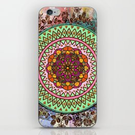 Circle of Flowers iPhone Skin
