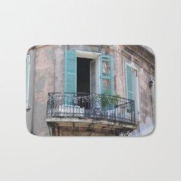New Orleans French Quarter Balcony Bath Mat
