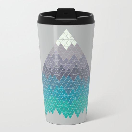 Many Mountains Metal Travel Mug