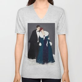 Winter Widow Anastasia Cross-over Unisex V-Neck