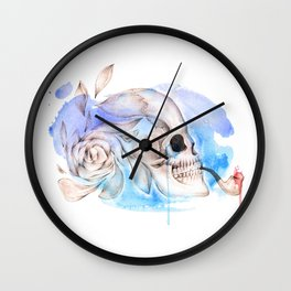 Death & Beauty Wall Clock