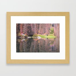 Rainbow Lake Framed Art Print