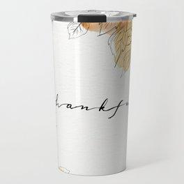 THANKFUL LEAFS Travel Mug