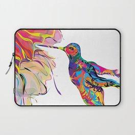 """Humhumbird"" Paulette Lust's whimsical, colorful, contemporary, original, fun, art.  Laptop Sleeve"