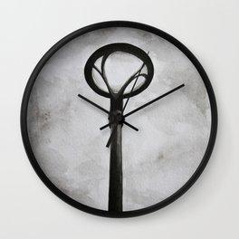 Lampara y cielo Wall Clock