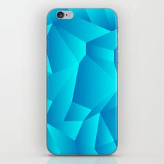 Mountain Grid Gradient iPhone & iPod Skin