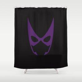 Huntress Mask Shower Curtain