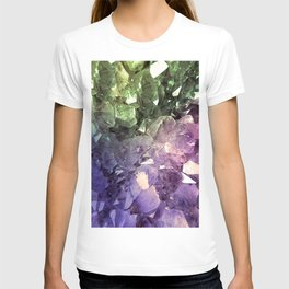 Two Tone Crystal Geode T-shirt